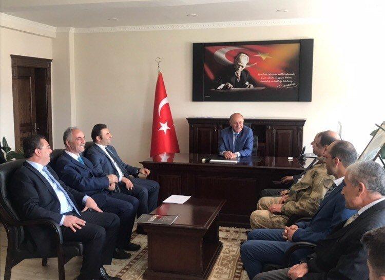 Vali Azizoğlu Horasan'da