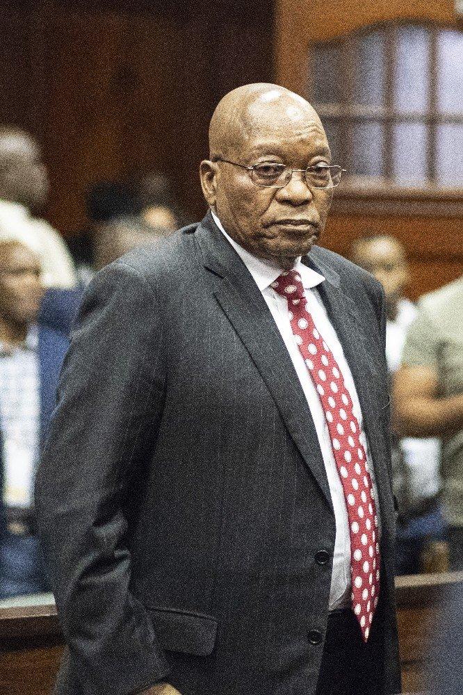 Jacop Zuma'nın yolsuzluk davası Temmuz'a ertelendi