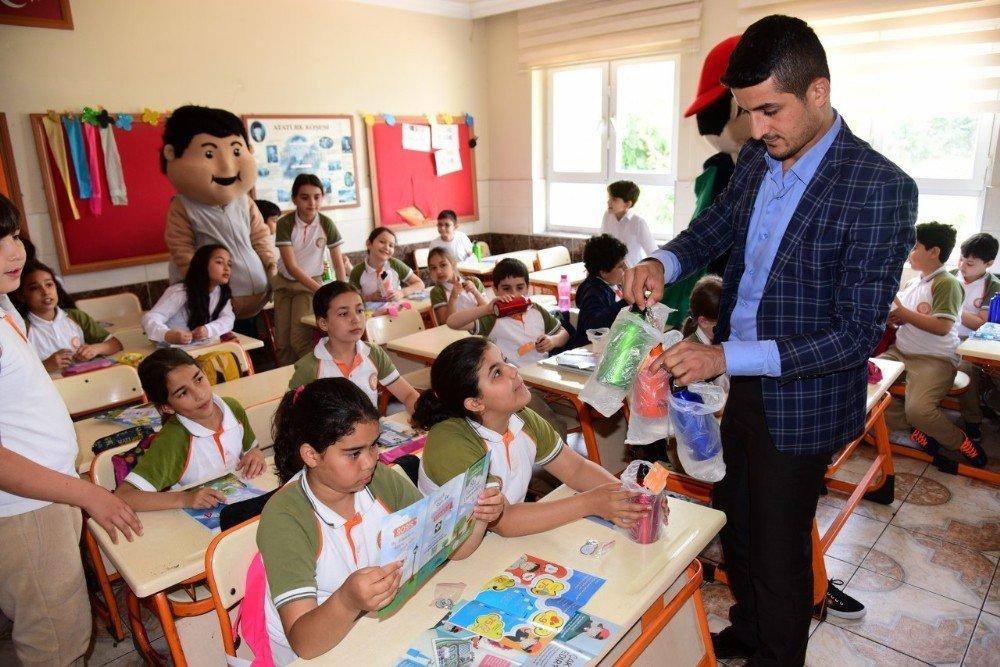 Osmaniye'de öğrencilere su tasarrufu eğitimi verildi