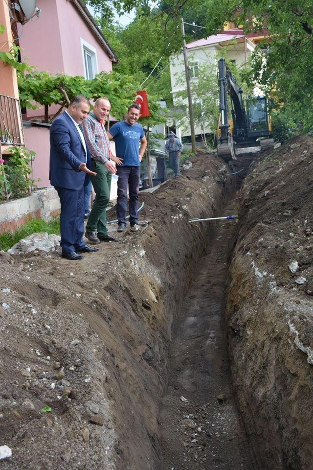 Görele Belediyesi ilçenin su ihtiyacını karşılayacak çalışması başlattı
