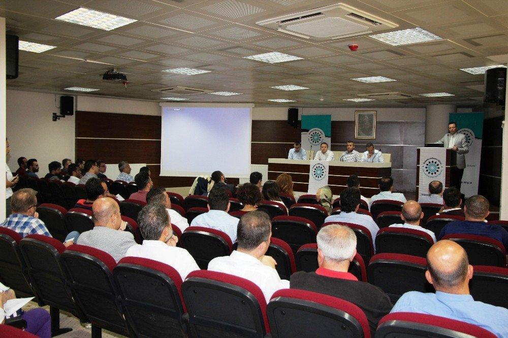 Gaziantep'te başarılı projelere yönelik bilgilendirme toplantıları