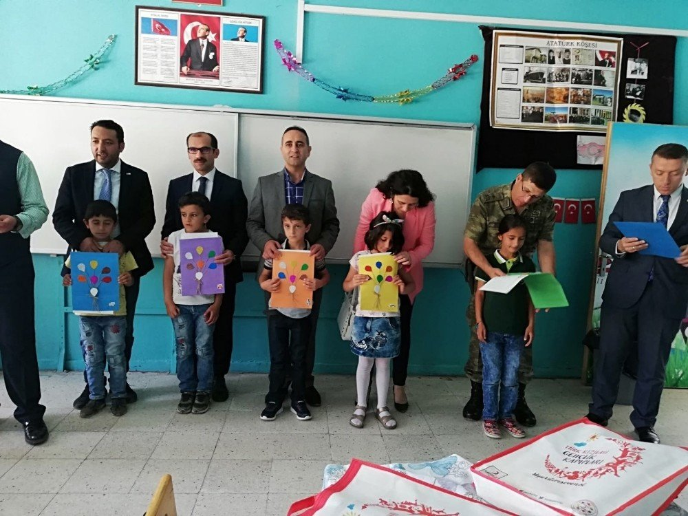 Çukurca'da zeka ve geliştirme oyun sınıfı açıldı