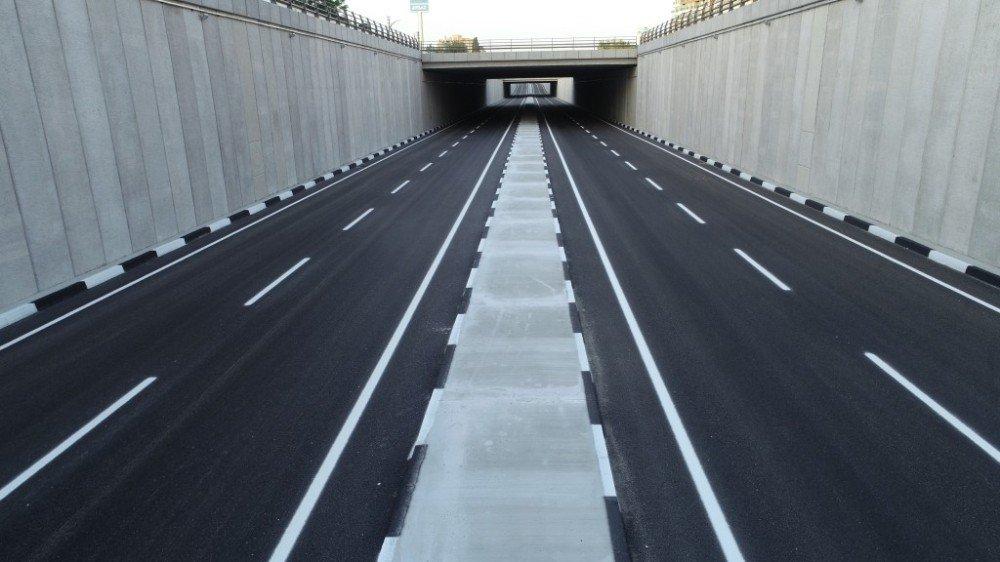 Turgutlu Köprülü Kavşak Projesi'nin ilk etabı açıldı