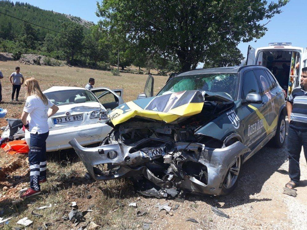 İYİ Parti'li adayın bulunduğu otomobil kaza yaptı: 1 ölü, 2 yaralı