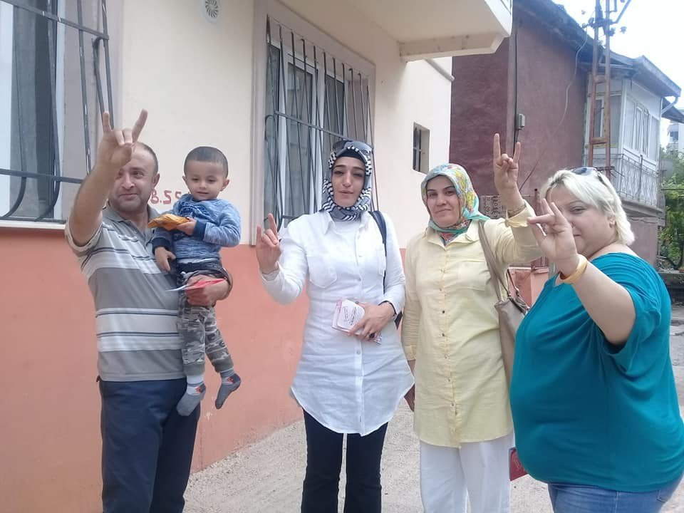 MHP'li kadınlardan Arapgir'e ziyaret