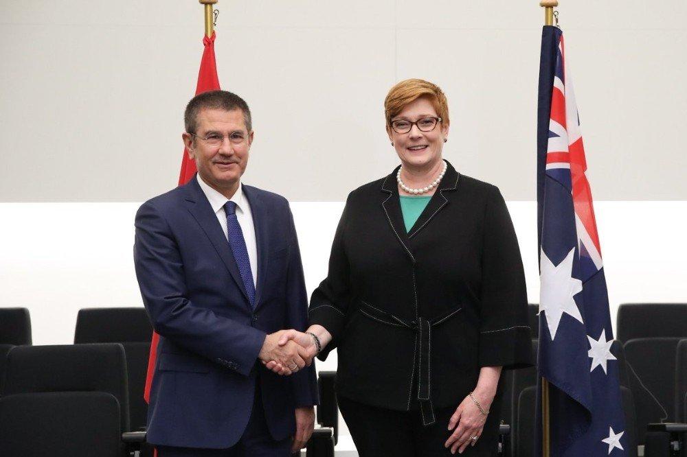 Bakan Canikli, Avustralyalı mevkidaşı ile görüştü
