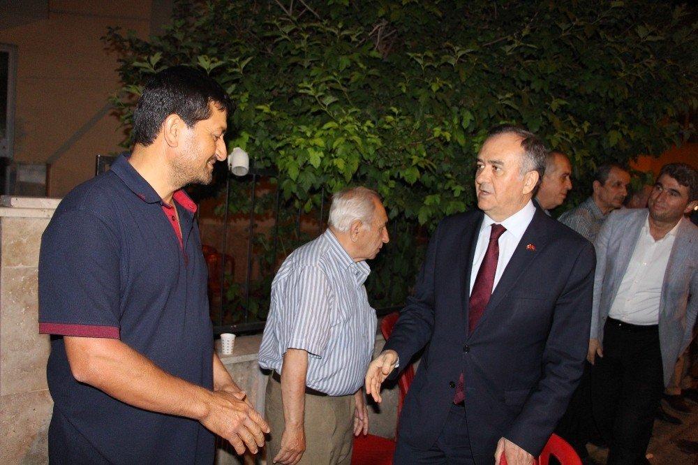 MHP'li Akçay'dan Tanrıverdi'ye taziye ziyareti