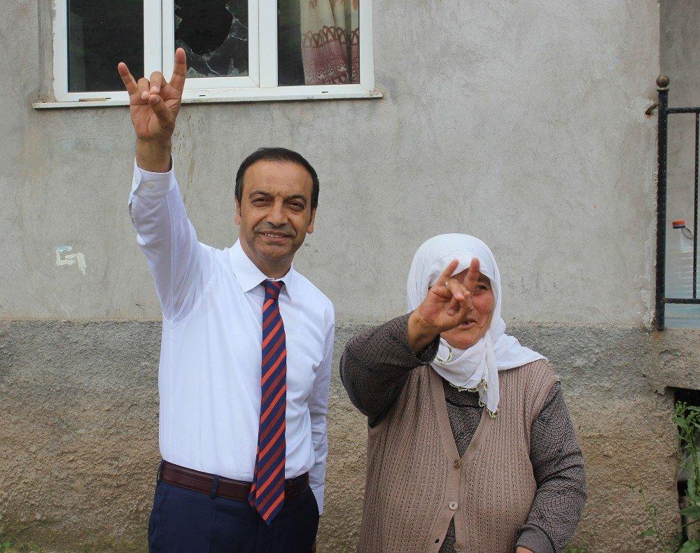 """MHP Sivas Milletvekili adayı Özyürek: """"Sivas'ın tekrar canlandıracağız"""""""