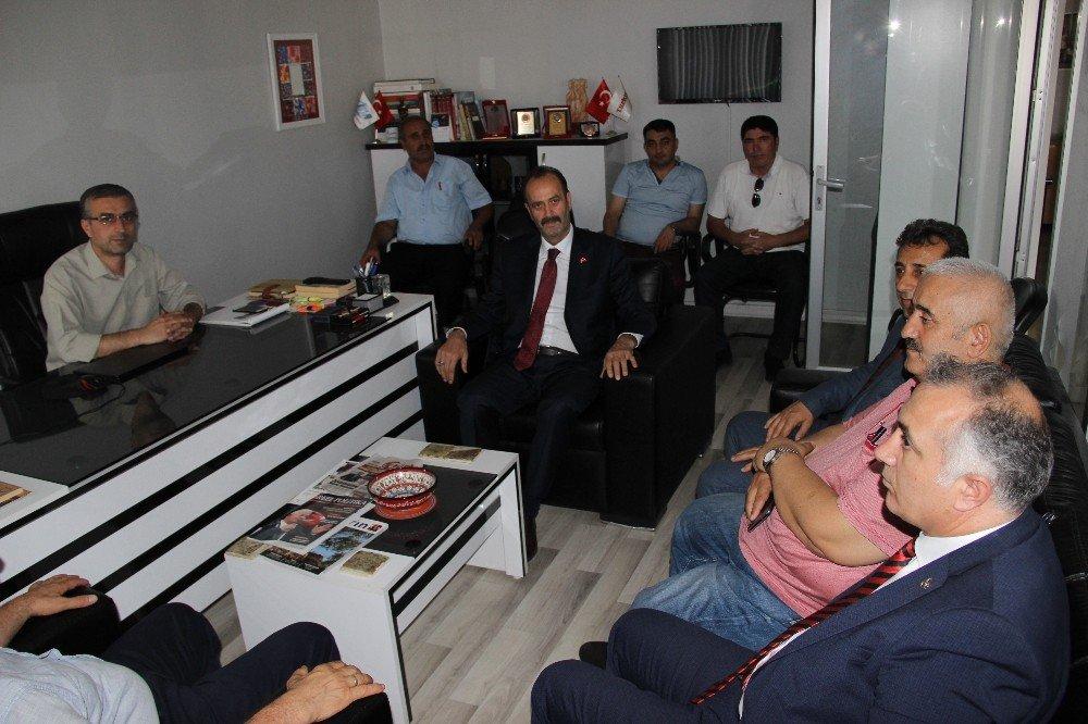 MHP'nin Erzurumlu adaylarından İHA'ya ziyaret