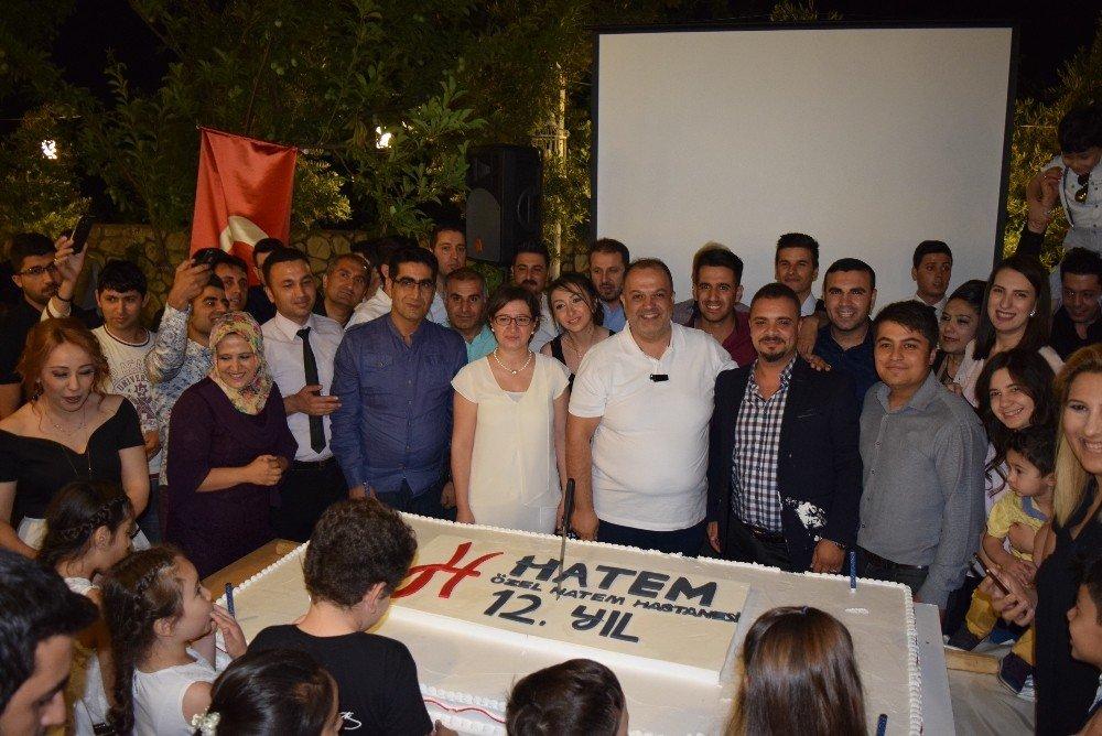 Hatem ailesi, hastanenin 12. kuruluş yıl dönümünde iftarda buluştu