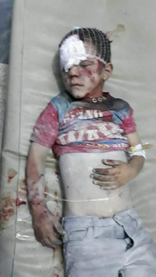 İdlib'e hava saldırısı: 38 ölü