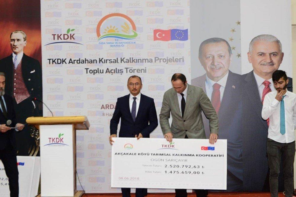 TKDK 72 Milyon TL'lik 109 projeyle sözleşme imzaladı