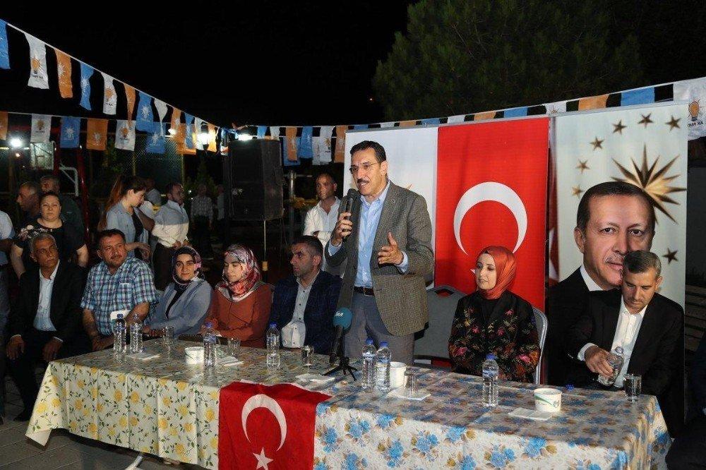 """Bakan Tüfenkci'den muhalefete eleştiri: """"Bırakın fabrikayı, fabrikanın çivisini bile bu ülkeye yaptıramazlar"""""""