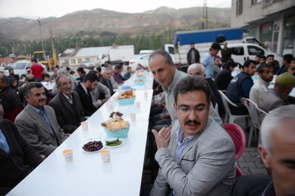 Ramazan ayı nedeniyle mevlit okutuldu