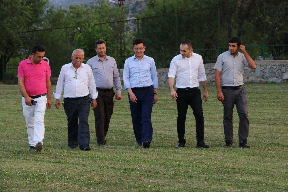 """Milletvekili Uslu: """"Antalya'ya hizmet etmek büyük bir onurdur"""""""