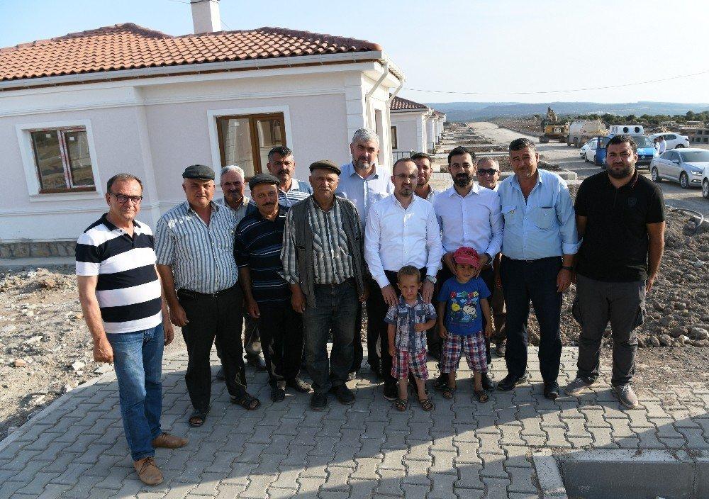 """AK Partili Turan: """"Yeni dönemde 340 tane yeni binamızın inşaatına başlayacağız"""""""