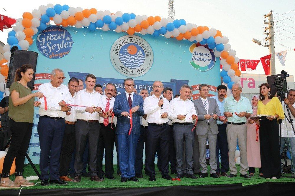 Akdeniz Belediyesi'nden görkemli açılış