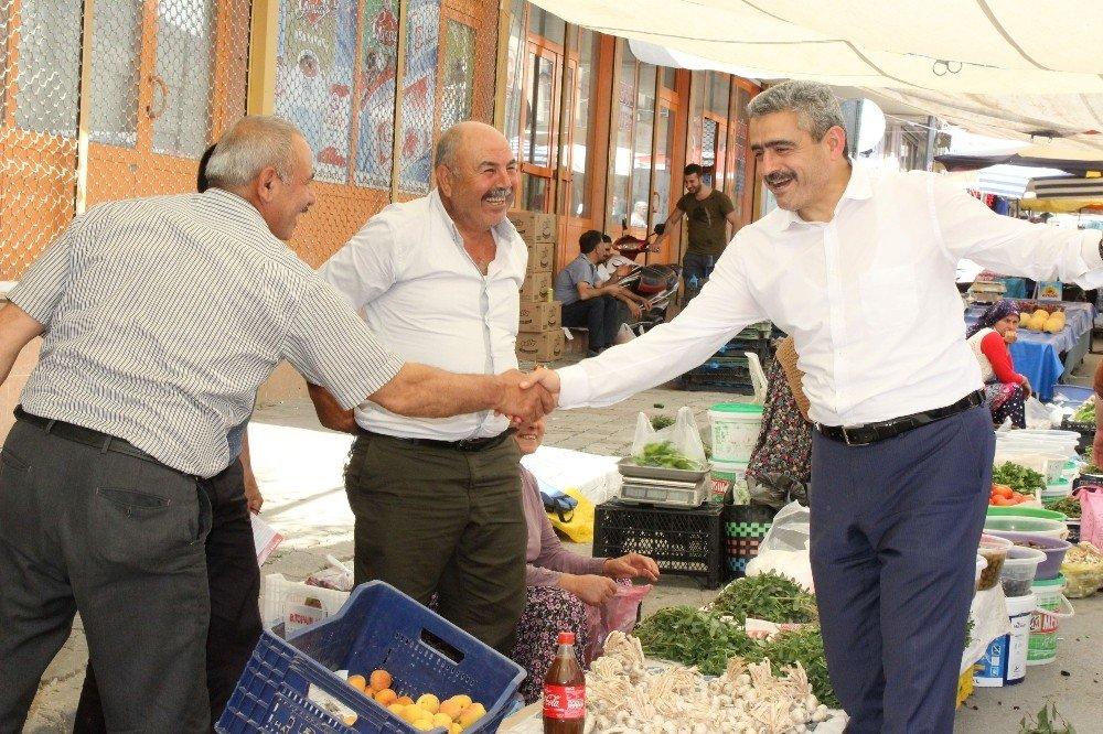 """Başkan Alıcık, """"Nazilli'de en iyi neticeyi alacağız"""""""