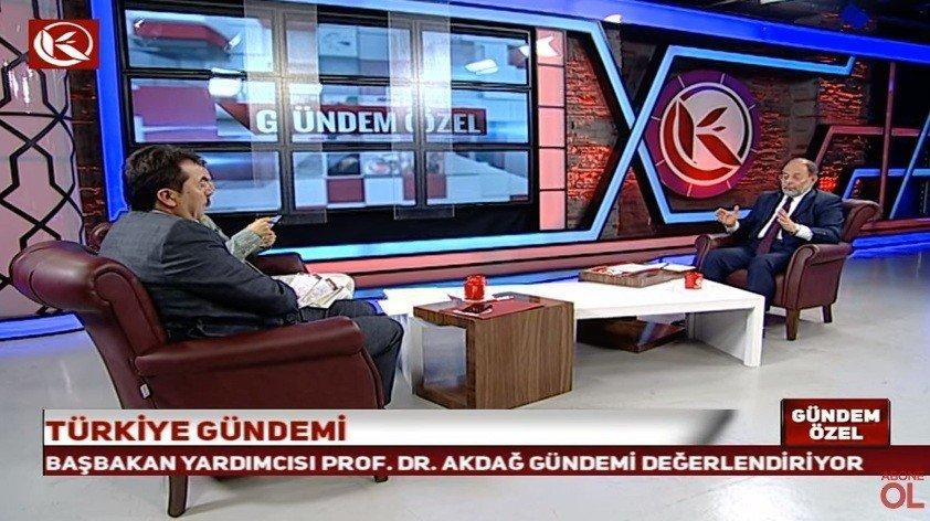 """Başbakan Yardımcısı Akdağ: """"Muharrem İnce delikanlıysan çıkıp açıklarsın"""""""