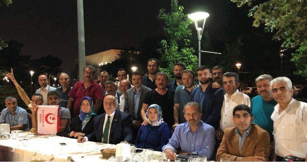 AK Parti Bursa Milletvekili adayı Ahmet Yelis, BBP üyeleriyle iftarda buluştu