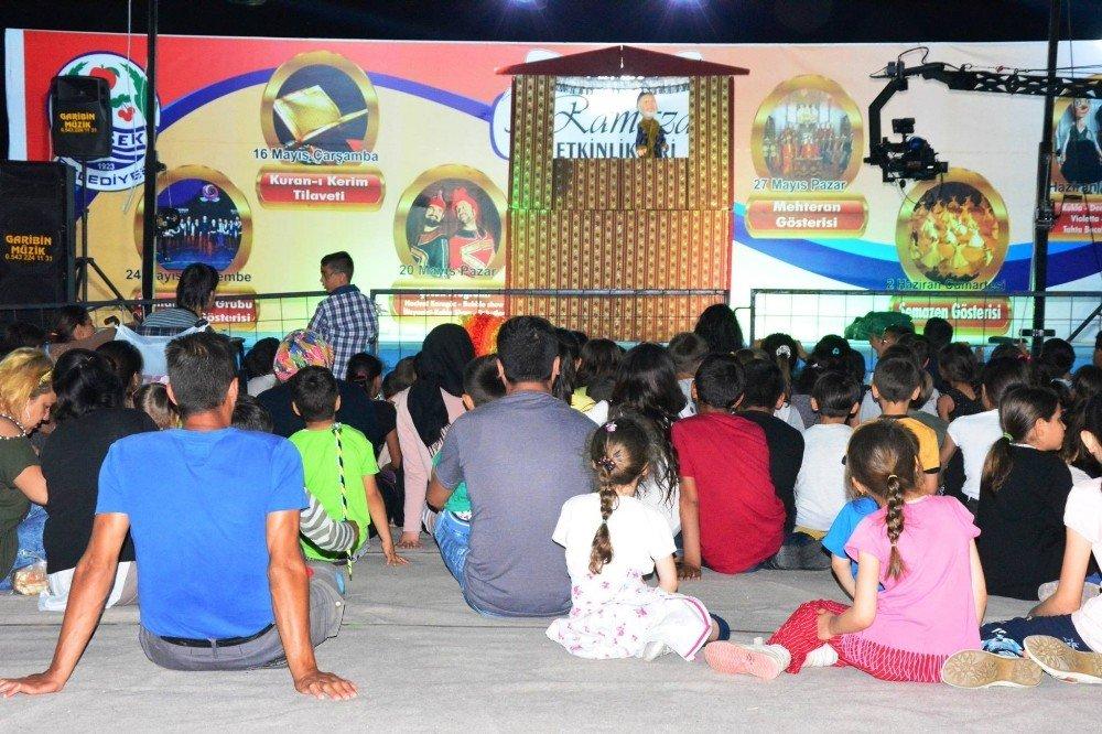 Lapseki Belediyesi Ramazan etkinlikleri devam ediyor
