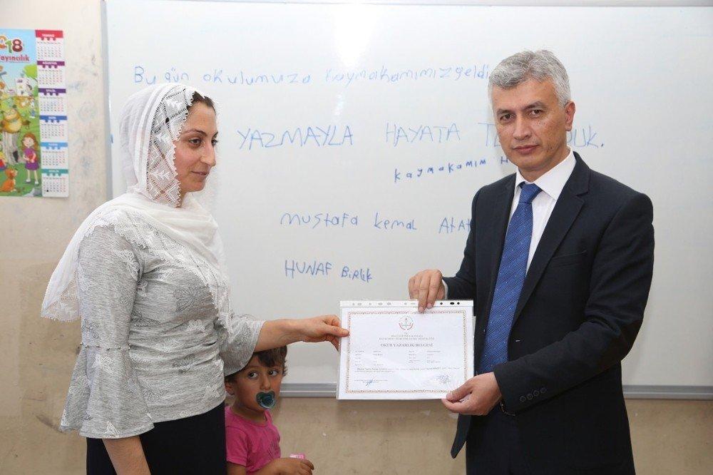 Emine Erdoğan'ın başlattığı seferberlik Cizre'de meyvelerini verdi