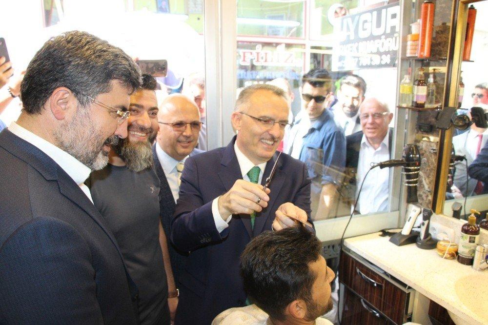 Maliye Bakanı Naci Ağbal Afyonkarahisar'da
