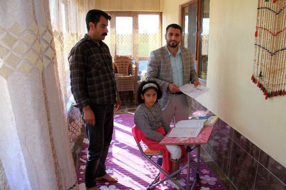 Genç adımlar derneğinden hasta ve engelli ziyaretleri