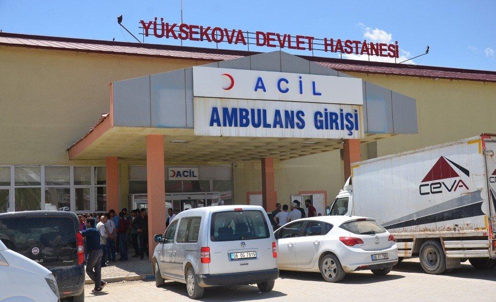 Yüksekova'da iş kazası: 2 ölü, 1 yaralı