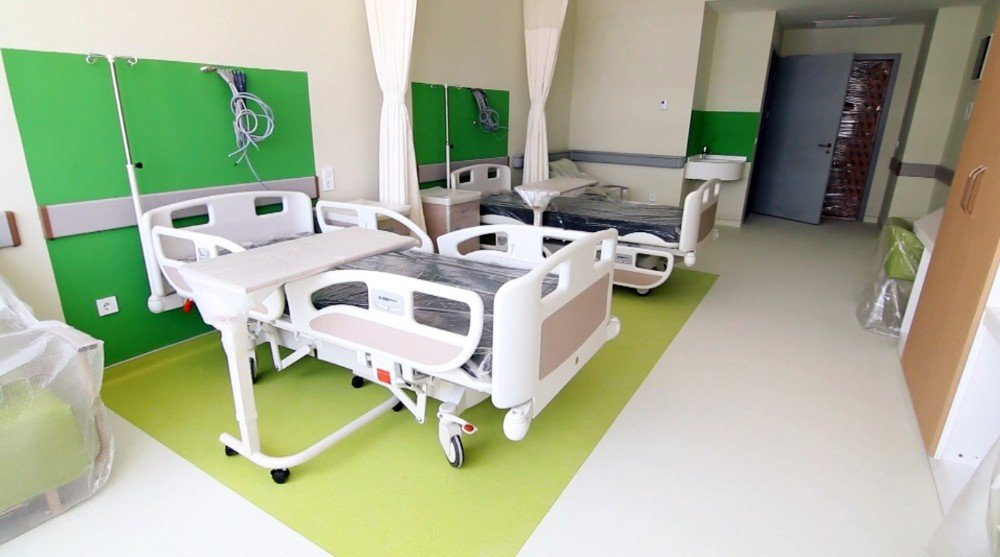Tamamlandığında yılda 2,5 milyon hastaya hizmet verecek