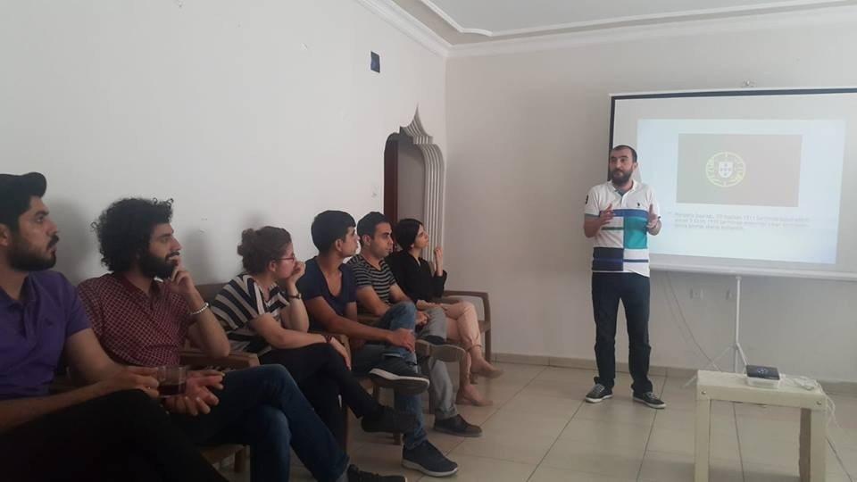 Gençlere Portekiz anlatıldı