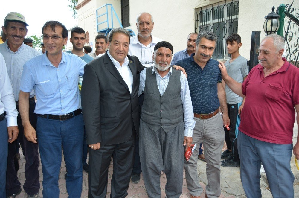 MHP'li Fendoğdu, seçim çalışmalarını sürdürüyor