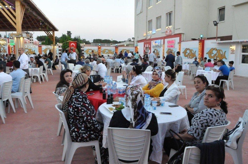 MHP'liler Nizip'te iftar yemeğinde buluştu