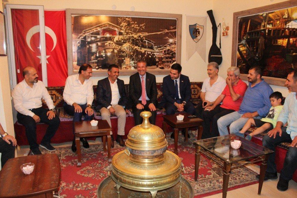 MHP'li Başkan'ın seçim çalışmaları