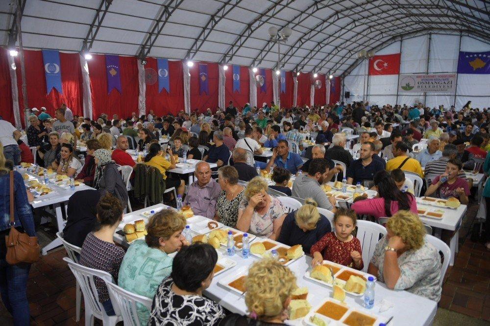 Osmangazi'den Kosova'da Gönül Sofrası