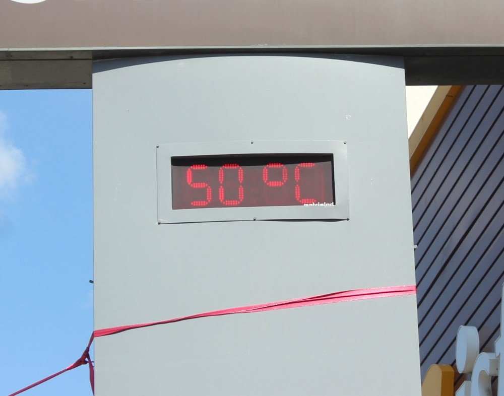 -Siverek'te termometreler 50 dereceyi gösterdi