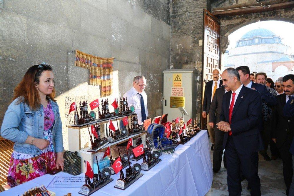 Sivas'ta Geleneksel El Sanatları Sergisi açıldı