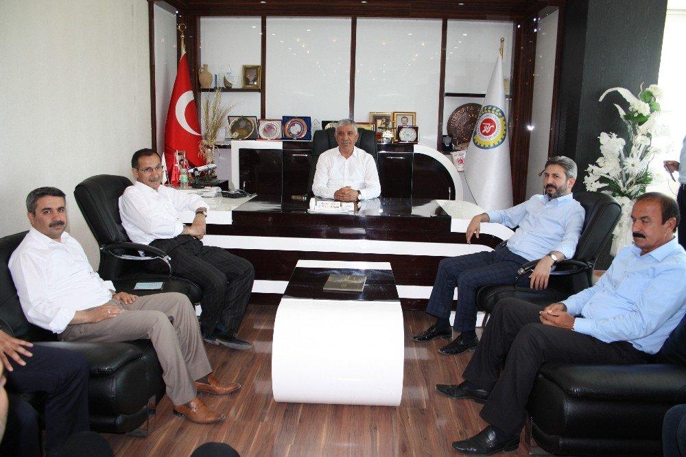 TBMM Meclis Başkanvekili Ahmet Aydın'dan ATSO'ya ziyaret