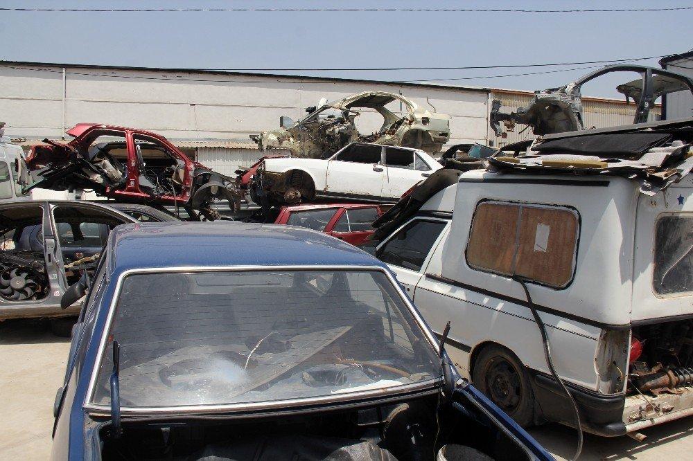 Türkiye'de en fazla hurda araç İstanbul'da var
