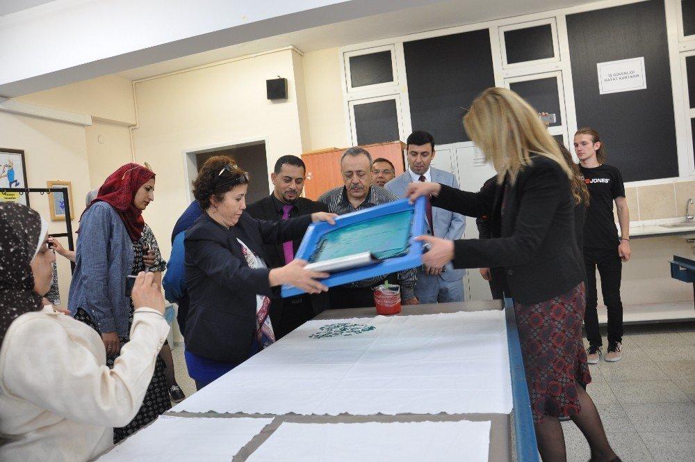 Ürdünlü Mesleki Eğitimcilerle Türkiye Tecrübelerini Paylaşıldı