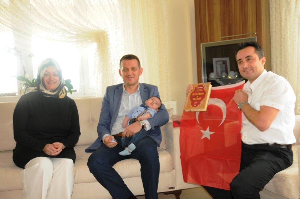 Ürkmezer'den Yeni doğan bebeklere ziyaret