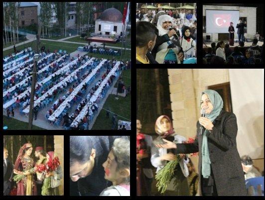 Bahçesaray'da Ramazan etkinliği