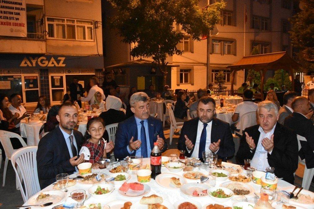 Yığılca Belediyesi iftarına rekor katılım