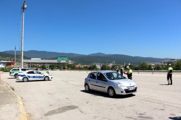 Bolu'da bayram trafiği için önlemler alındı