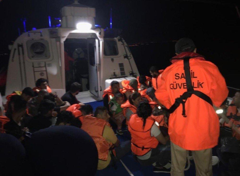 Didim'de 33 kaçak göçmen yakalandı