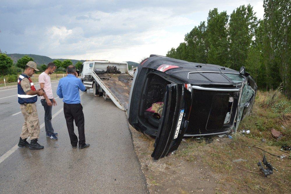 Tokat'ta trafik kazası: 8 yaralı