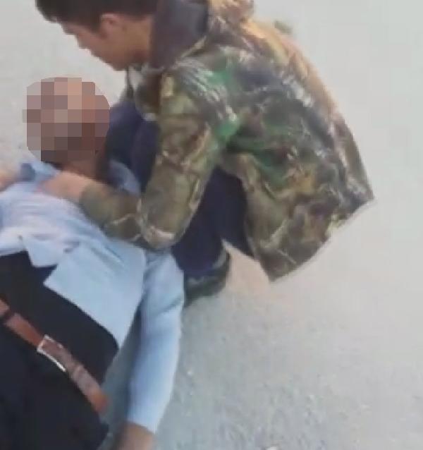 Konya'da kendisini potaya asan genç ölümden döndü
