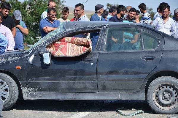 Konya'da feci kaza! Otomobil takla attı, Sağ çıkan olmadı
