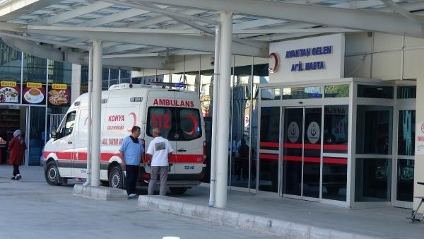 Konya'da gıda zehirlenmesi! 150 kişi hastanelik oldu!