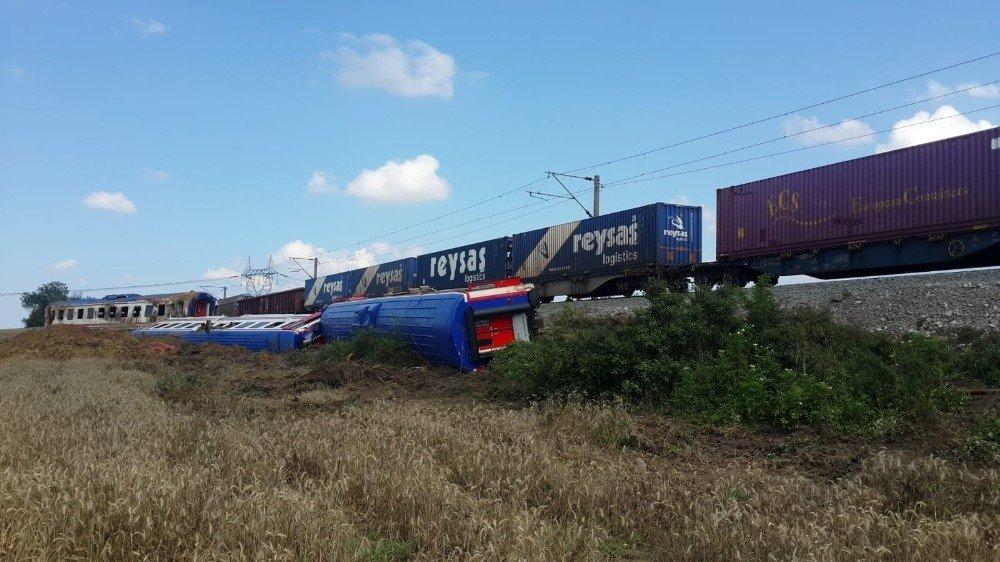Tren kazasının yaşandığı menfezin son hali